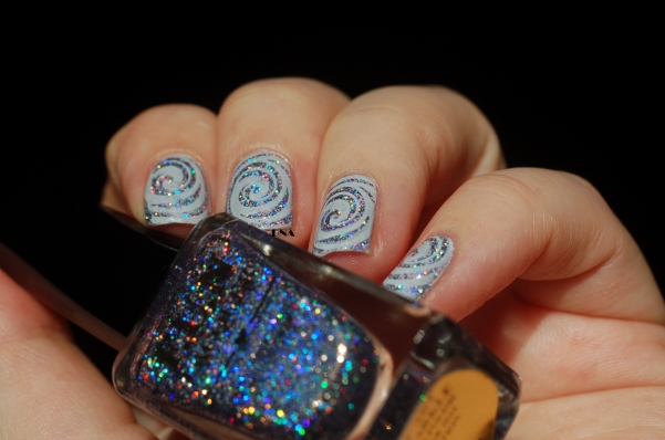 FUN lacquer The art of sparkle stamping bundle monster in the sun