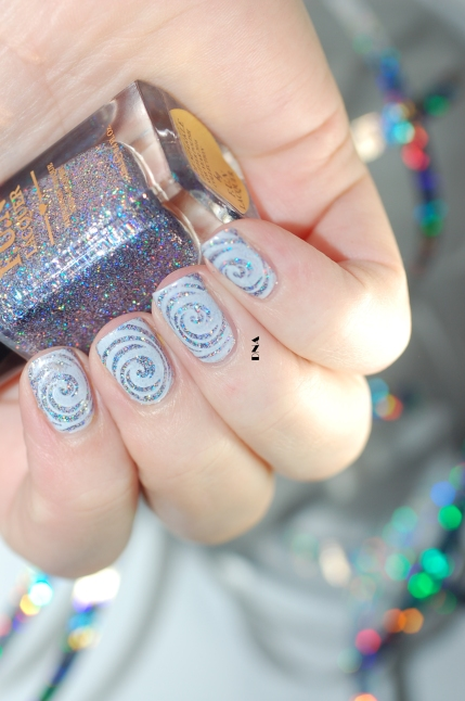 FUN lacquer The art of sparkle stamping bundle monster en lumière artificielle