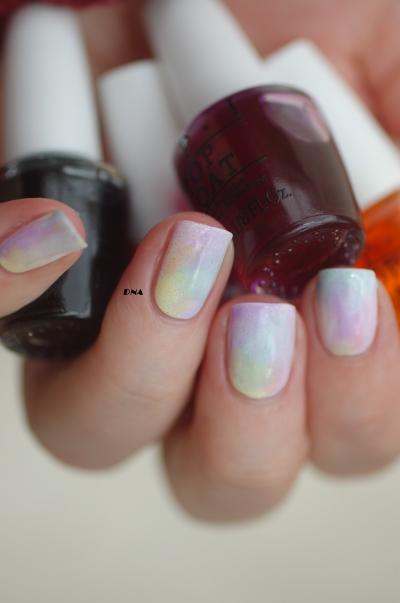sheer tints OPI rainbow flawless