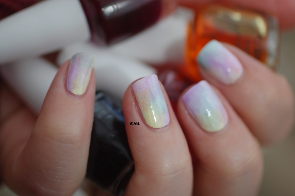 sheer tints OPI rainbow