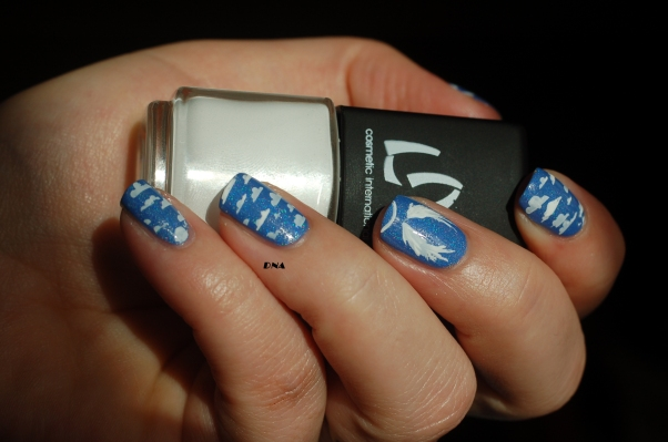 angel nail art reign beau EP in the sky