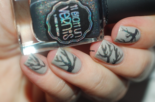 nail art IEUV I am a natural + just my type