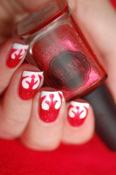 rebel symbol star wars nail art