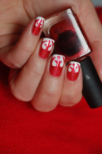 nailstorming nail art rebel star wars