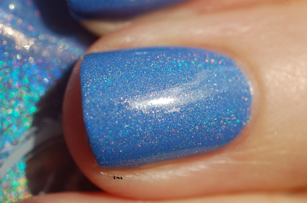 close up Reign Beau Enchanted Polish in the sun