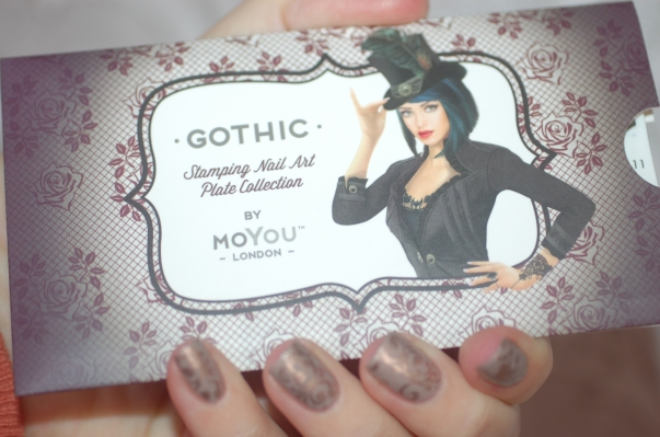 nailstorming stamping moyou gothic