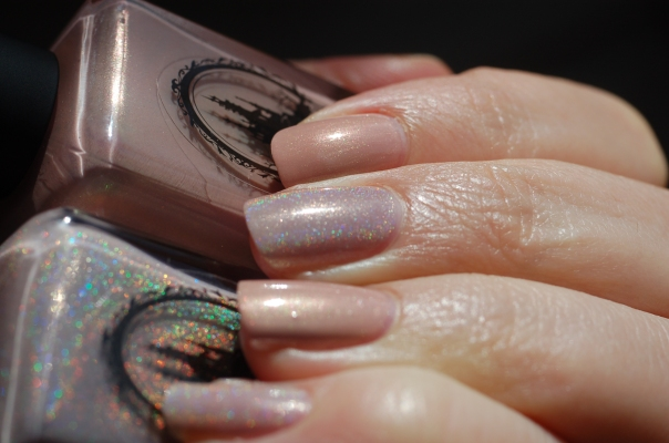 compraison Enchanted Polish Tulle January 2016 in the sun
