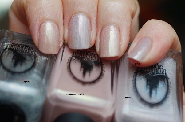 compraison Enchanted Polish Tulle January 2016+ djinn