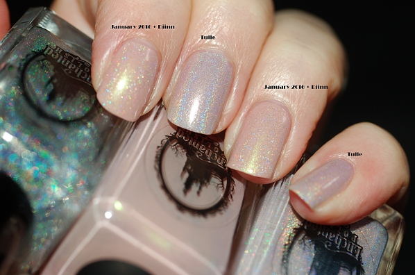 compraison Enchanted Polish Tulle January 2016+ djinn with flash