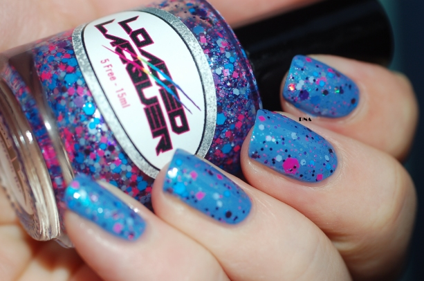 february 2016 enchanted polish + loaded lacquer Oxygen bar + flash