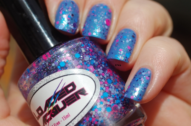 february 2016 enchanted polish + loaded lacquer Oxygen bar + sun