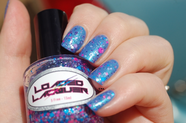 february 2016 enchanted polish + loaded lacquer Oxygen bar in the sun