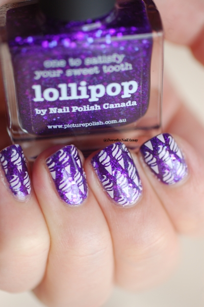 ice cream lollipop nail art 4