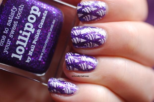 ice cream lollipop nail art 6