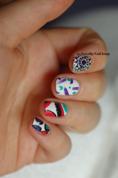 desigual my nails avec IL ETait Un Vernis collection