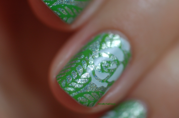 nail art flowers sencha cirque