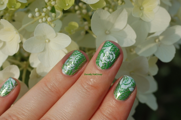 nailstorming flowers and garden