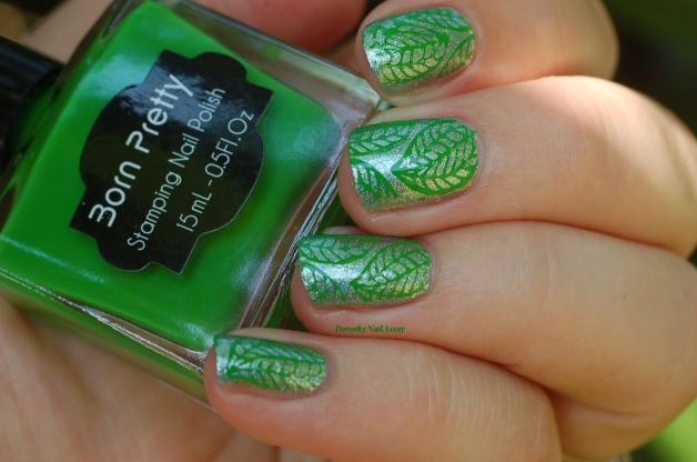 nee jolie stamping polish green (3)