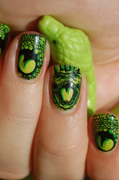 close up double stamping Bundle monster