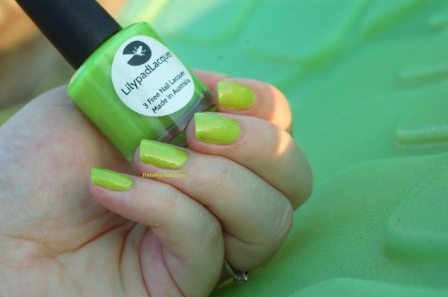 swatch zombee lilypad lacquer outdoor