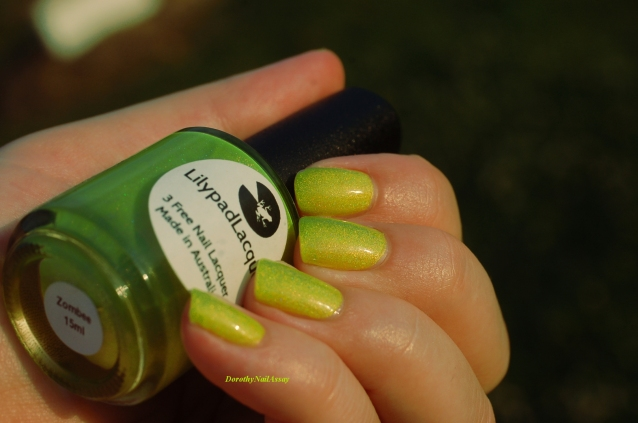 swatch zombee lilypad lacquer