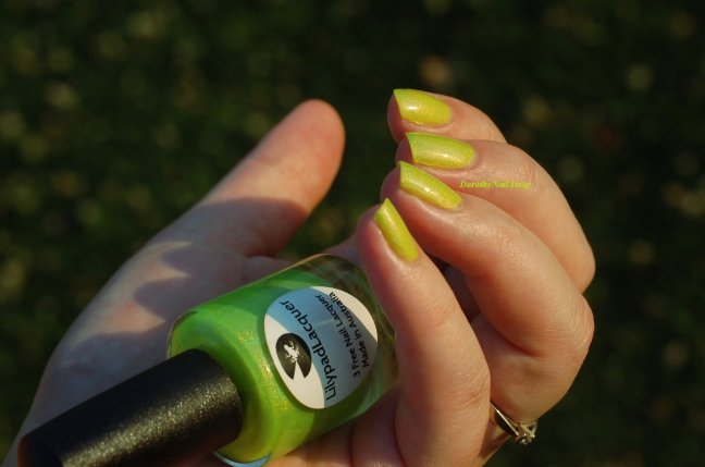 swatch zombee lilypad lacquer in the sun