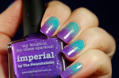 gradient nails blue -purple (2)