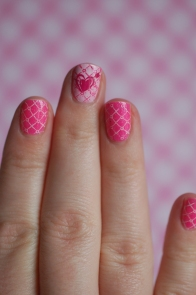 heart wallpaper nailart
