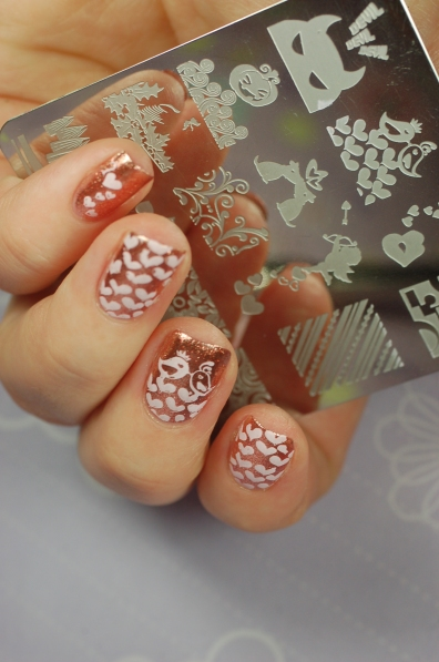 stamping amour Kit Manucure
