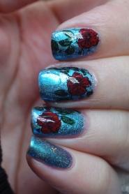 5nailschallenge nail art