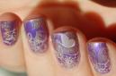 holo spring nail art