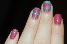 london new york picture polish nailart