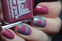 london new york picture polish nails